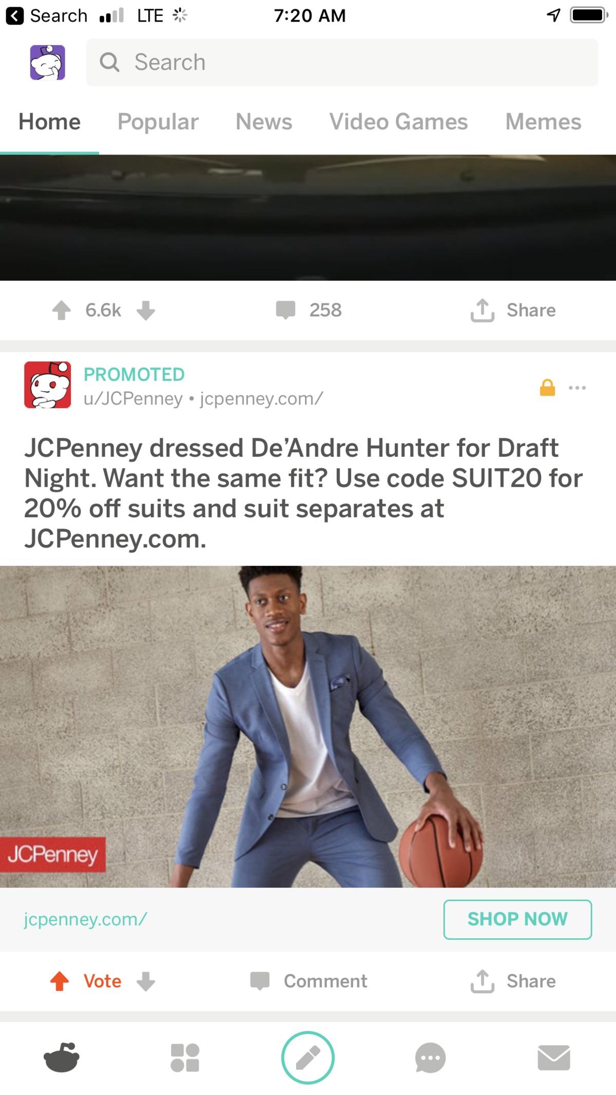 Dre on my Reddit feed | Virginia Mens Basketball Board