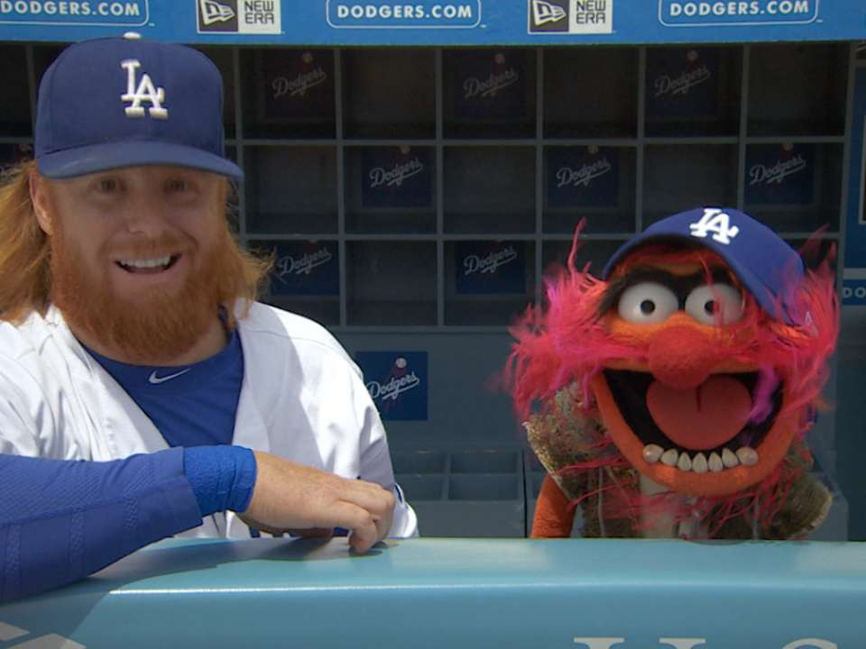 Image result for Justin Turner and muppet