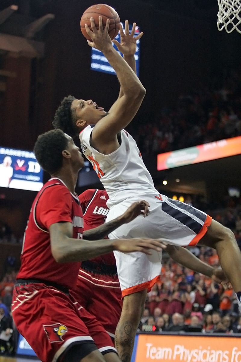 Virginia Basketball Photo Gallery: Louisville   TheSabre.com