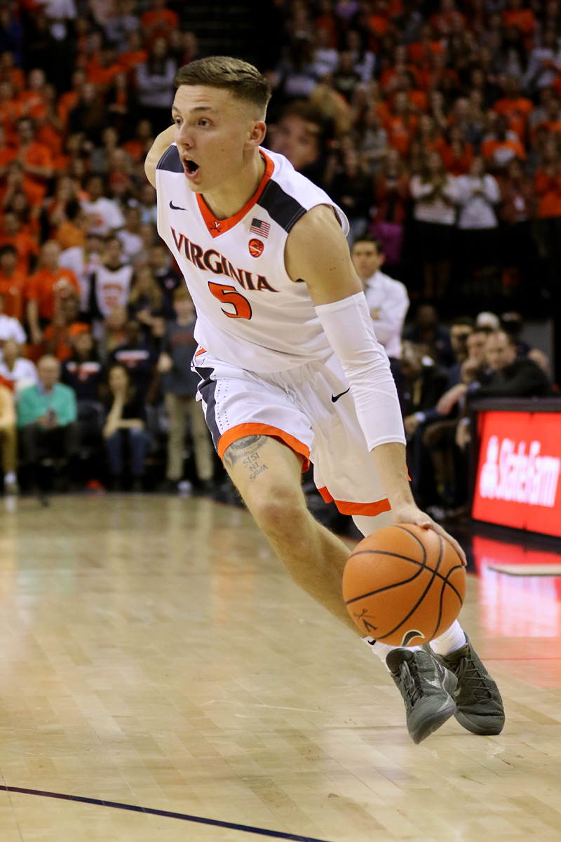 Didn't know Kyle was inked | Virginia Mens Basketball Board