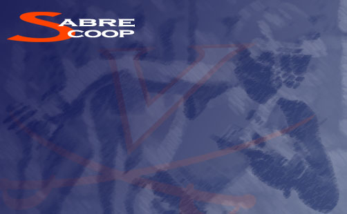 Sabre Scoop:  The Weekend's Key Events