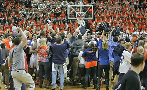 Wahoo Nation Rejoices Atop ACC