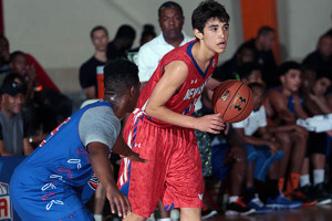 Jerome in AAU competition in July of 2014 (Photo Credit: Kelly Kline/Under Armour)