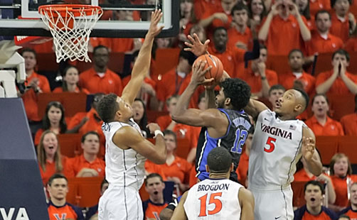 Duke Rallies To Hand UVa Its First Loss