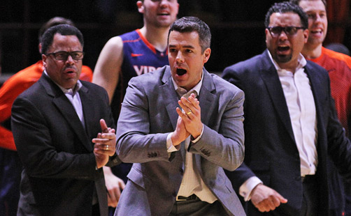 Virginia Draws No. 2 Seed, Belmont