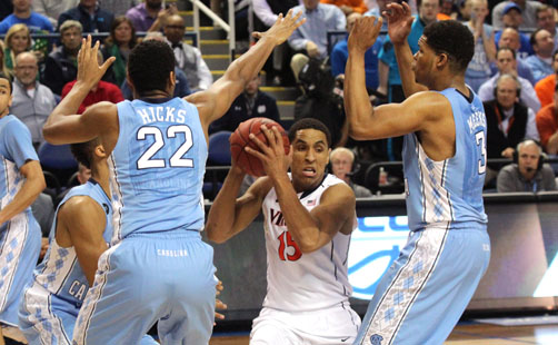 North Carolina Ends UVa's Repeat Hopes