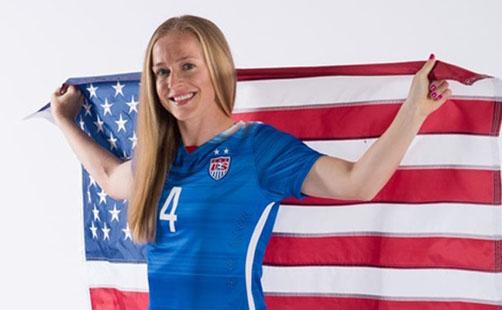 Becky Sauerbrunn Savors Soccer, World Cup Opportunities