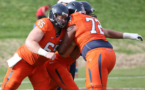 Depth Increases Competition On Virginia's Offensive Line