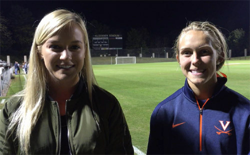 Sabre TV: Brittany Ratcliffe On UVa's Win Over Louisville