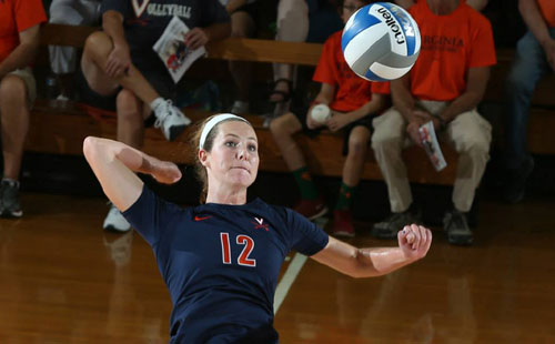 UVa Volleyball Opens Commonwealth Clash As Part Of First ACC Home Matches