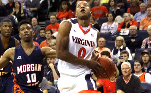 UVA Breezes Past Long Beach State