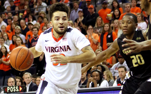 Hoos Stumble On Road Against Hokies