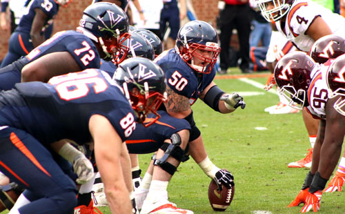 Virginia's Offensive Line Depth Remains Thin
