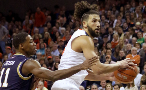 Virginia Drops Notre Dame In ACC Opener