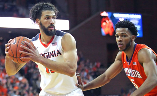 Virginia Named No. 1 Seed In Midwest Region