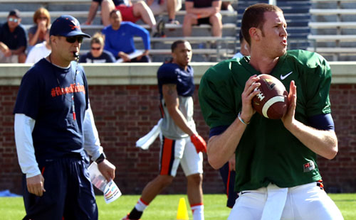 Hoos Start Building Process With Bronco Mendenhall