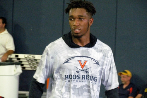 "Crowell Jr. feels like ""part of the family"" after signing scholarship papers with UVA"