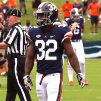 Virginia Football Notes:  Garner Making Most Of His Opportunity