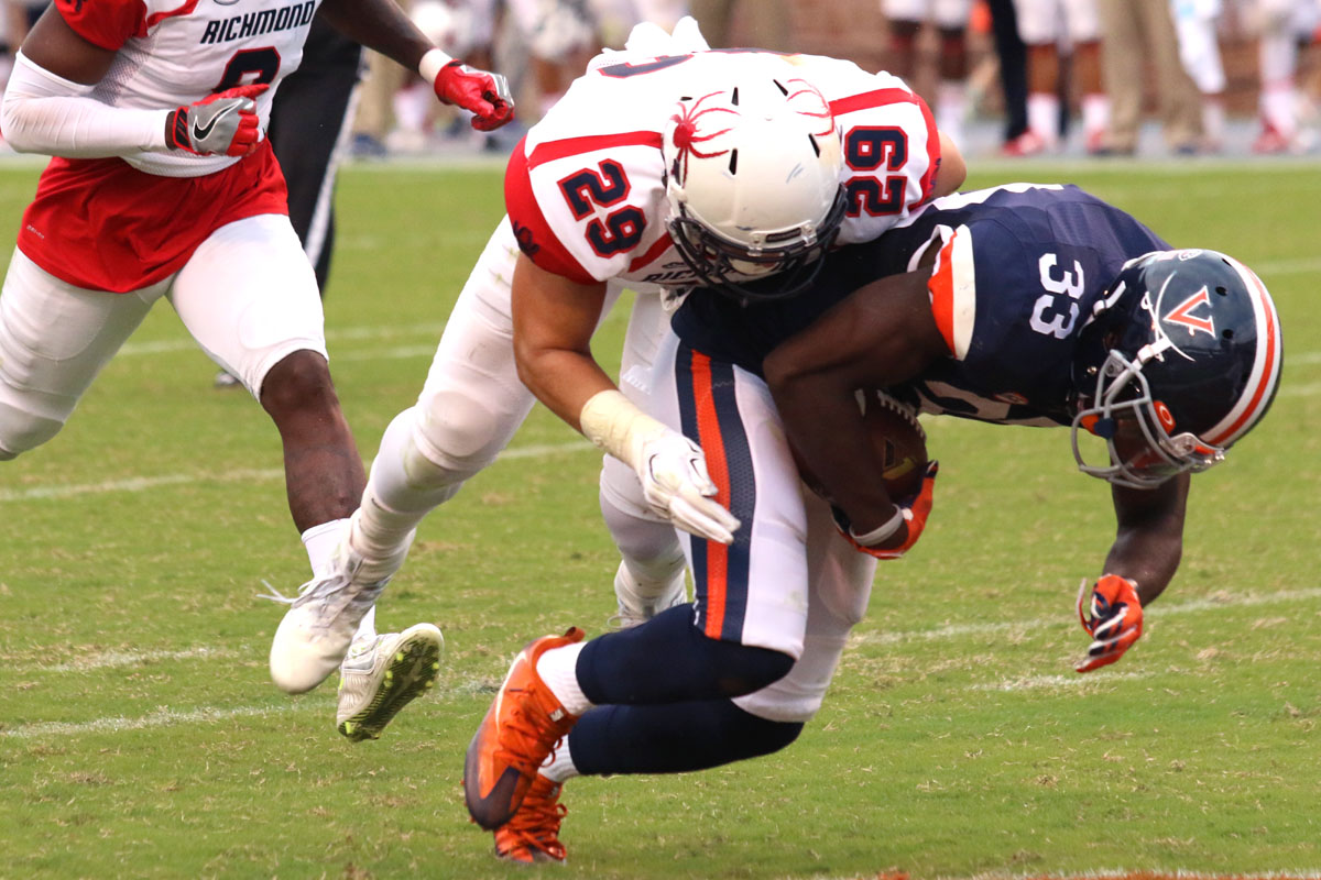 The Virginia football team hopes to bounce back from the loss.