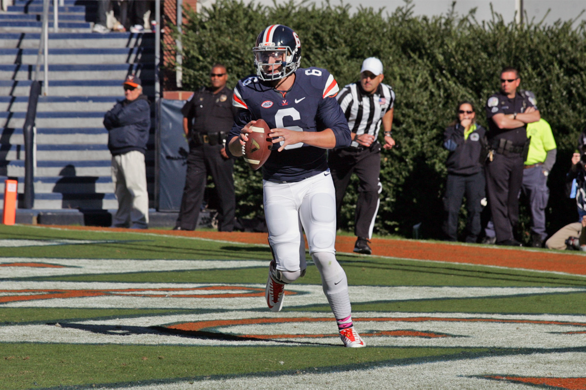 The Virginia football team fell to 2-7 with the loss at Wake Forest.