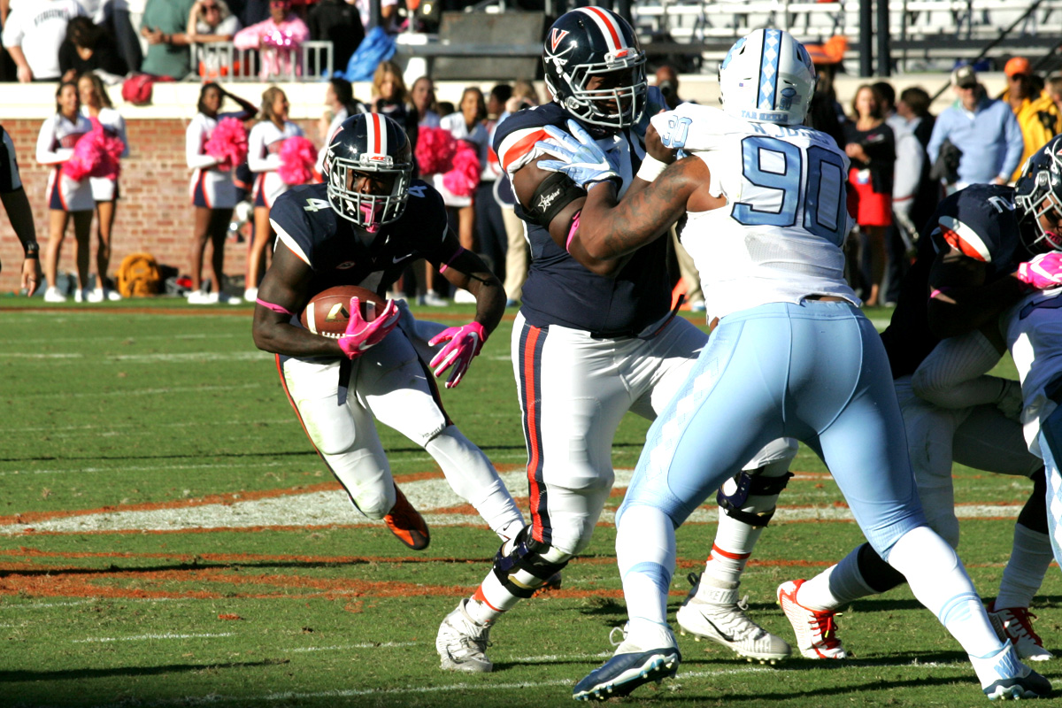 The Virginia football team dropped its second straight game.