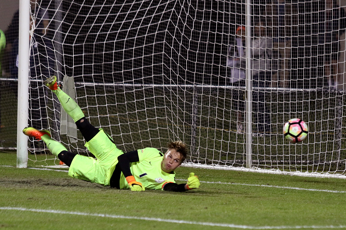 The Virginia soccer team held Notre Dame scoreless.