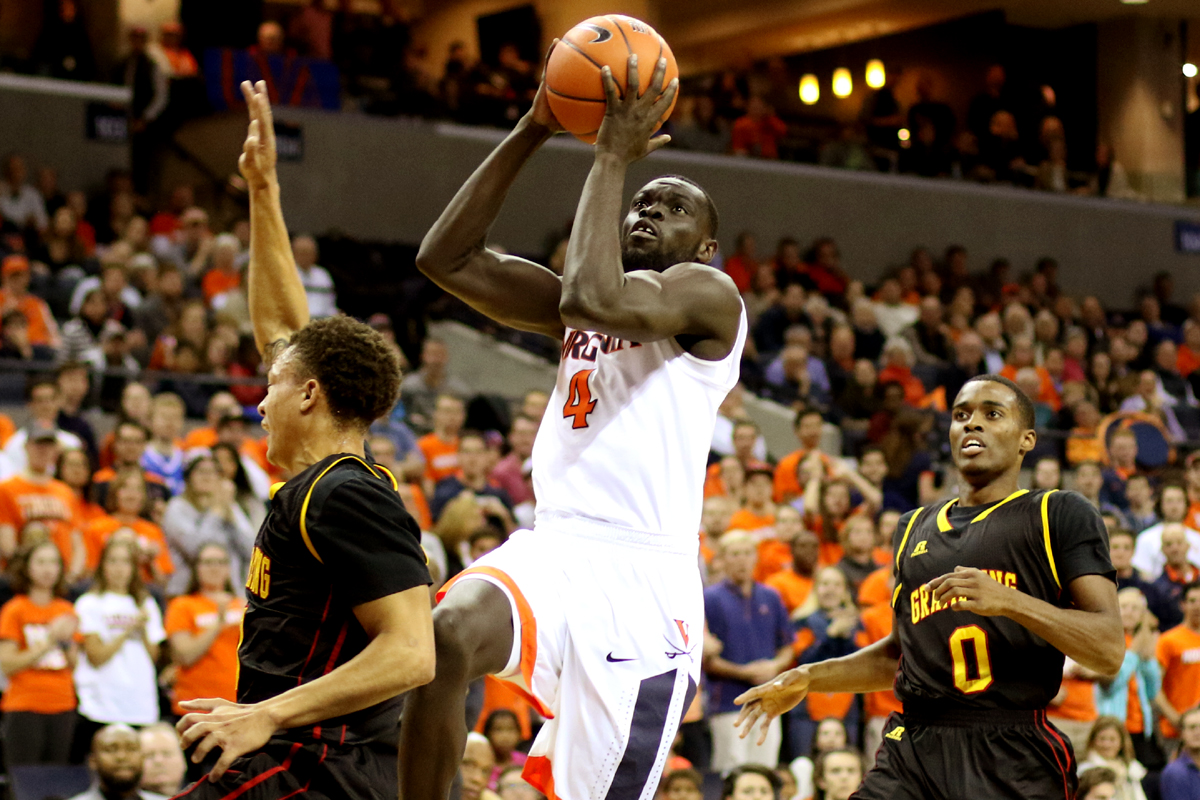 The Virginia basketball team improved to 4-0 on the season.
