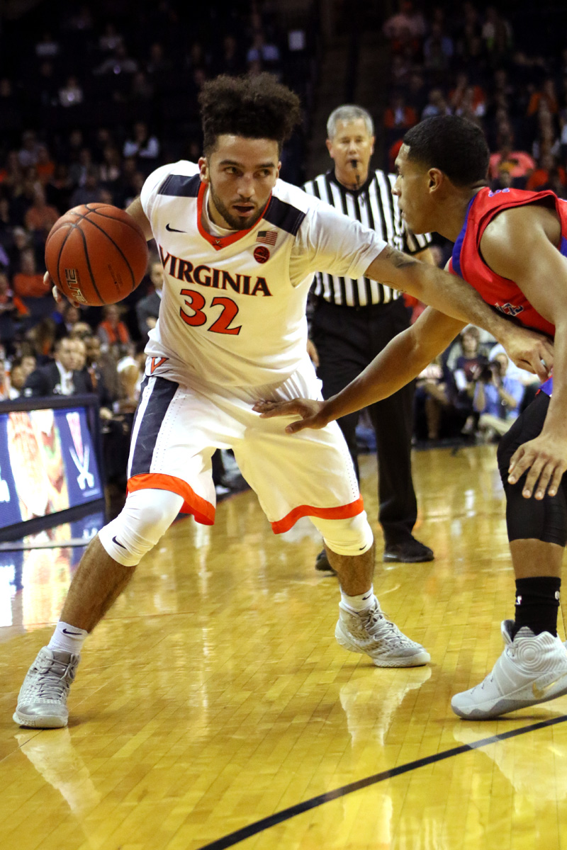 The Virginia basketball team is 3-2 in ACC play.