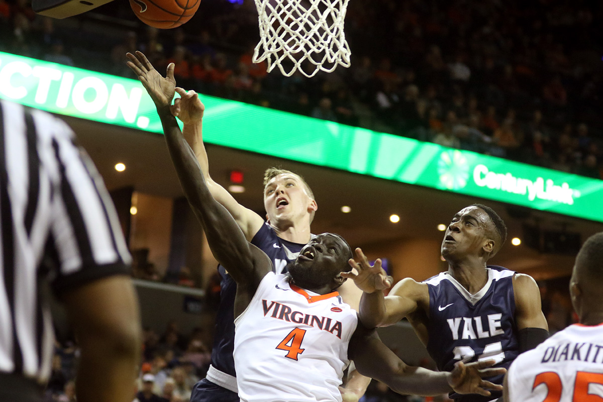 The Virginia basketball team improved to 3-0 on the season.