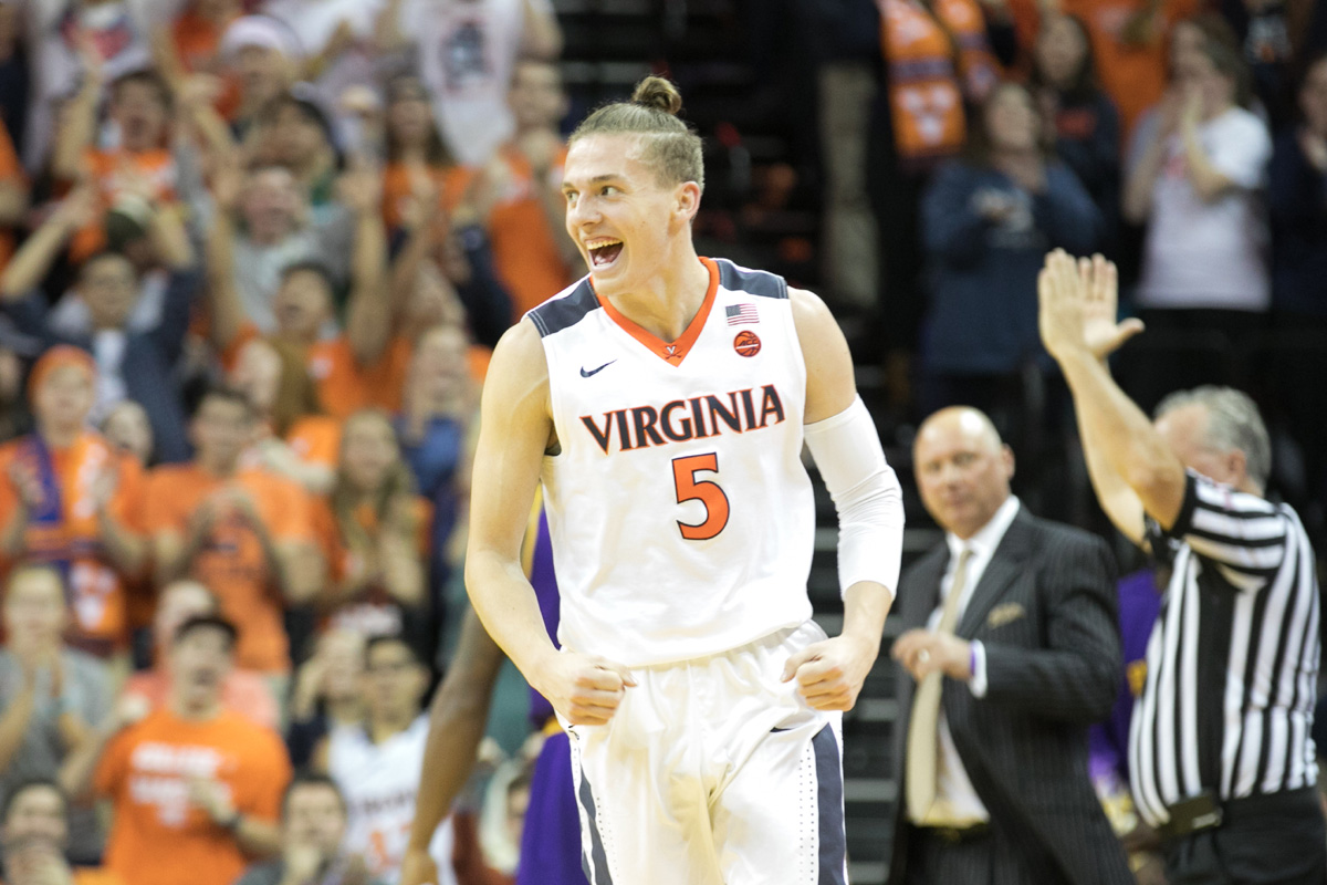 The Hoos play in the NCAA Tournament on Thursday.