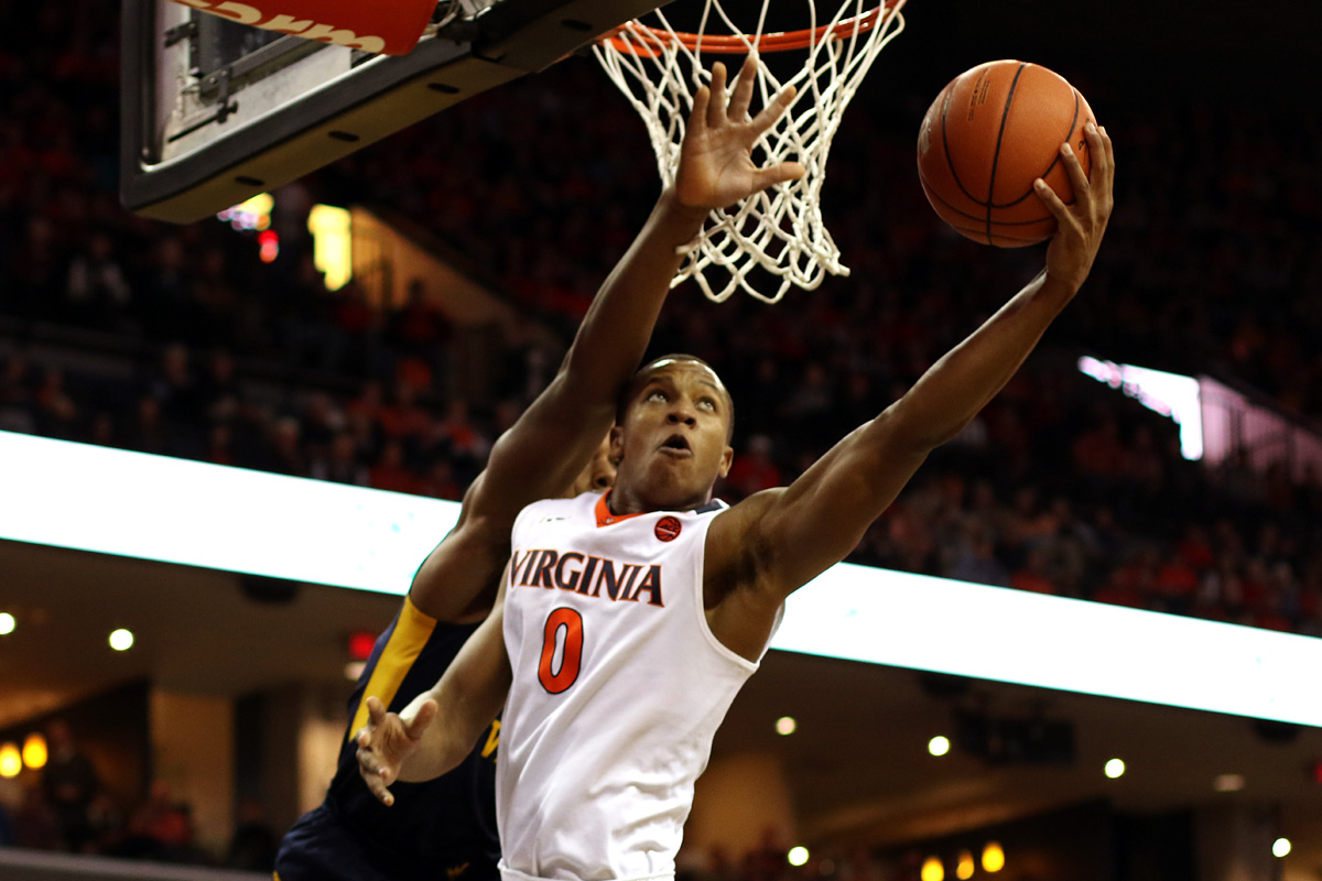 The Virginia basketball team fell to 7-1 on the season with the loss to West Virginia.