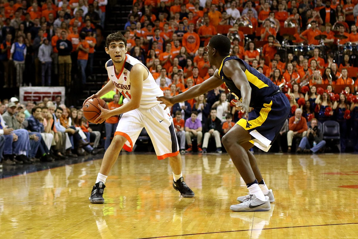 The Virginia basketball team fell in a close one at Villanova.