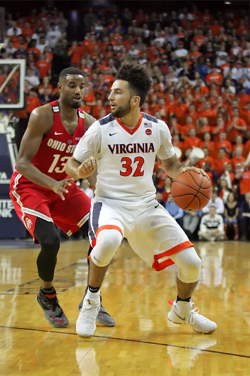 The Virginia basketball team fell to 1-2 in ACC play to start the season.