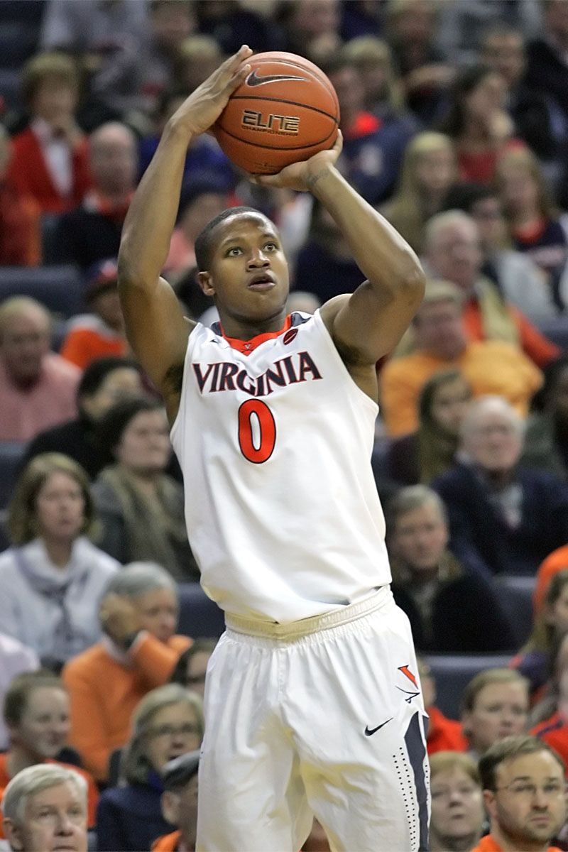 The Virginia basketball team reached 14-3 with the win.