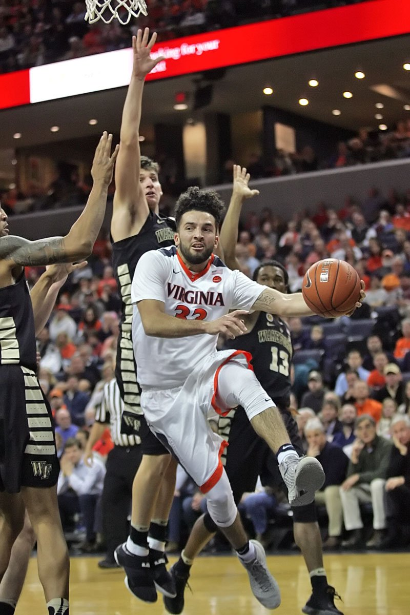 The Virginia basketball team is back in the NCAA Tournament.