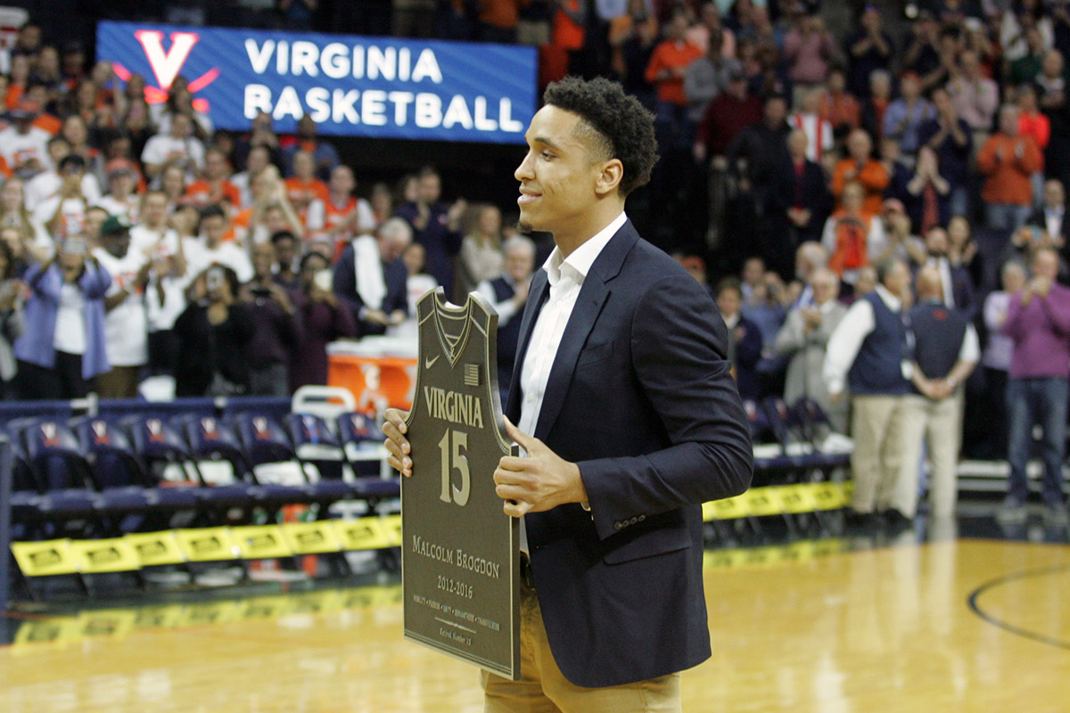 Malcolm Brogdon earned All-American honors as well.