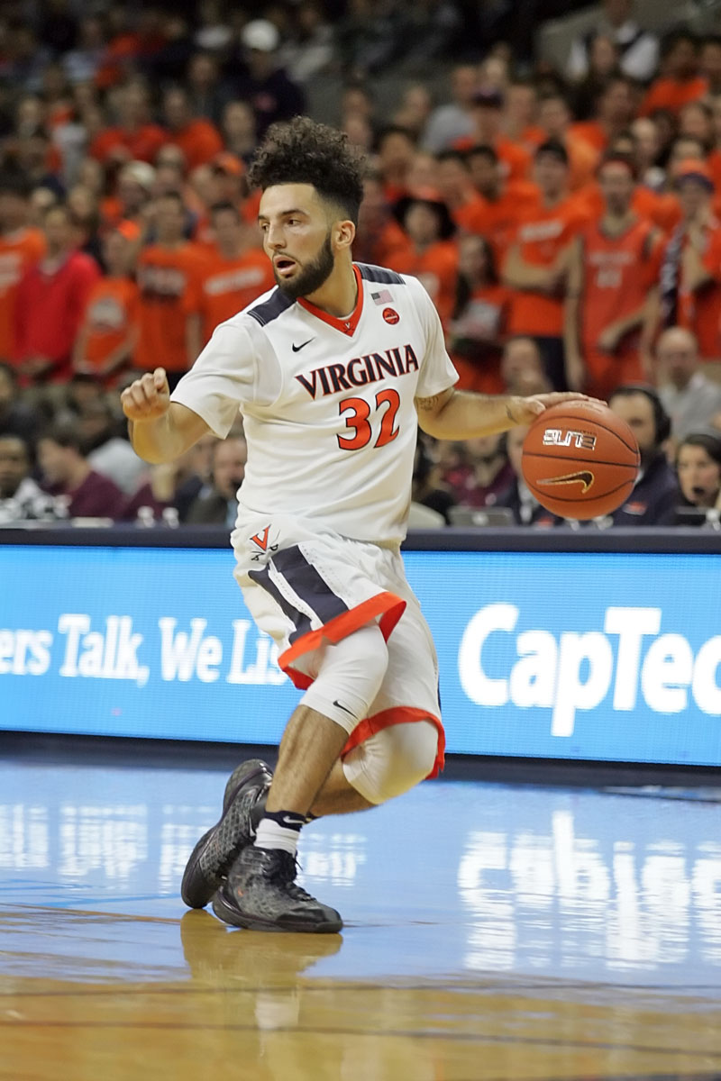 The Virginia basketball team plays in the NCAA Tournament this week.