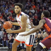 Virginia Cruises Past Virginia Tech