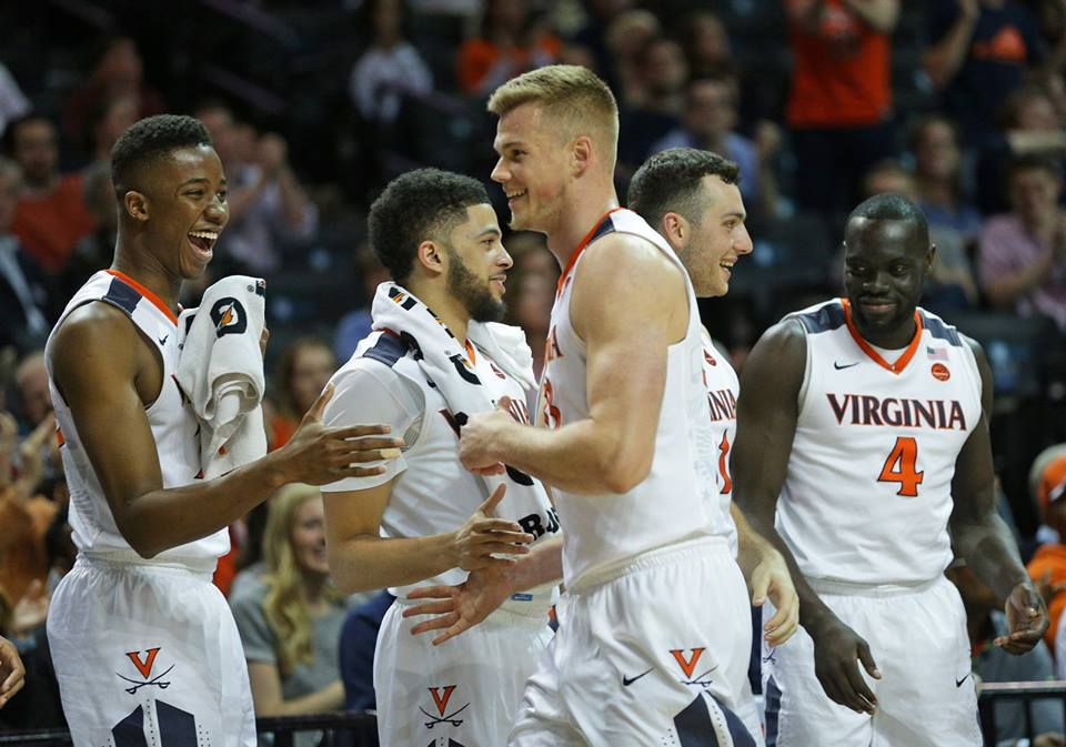 Jack Salt and the Virginia basketball team topped Pitt at the ACC Tournament.