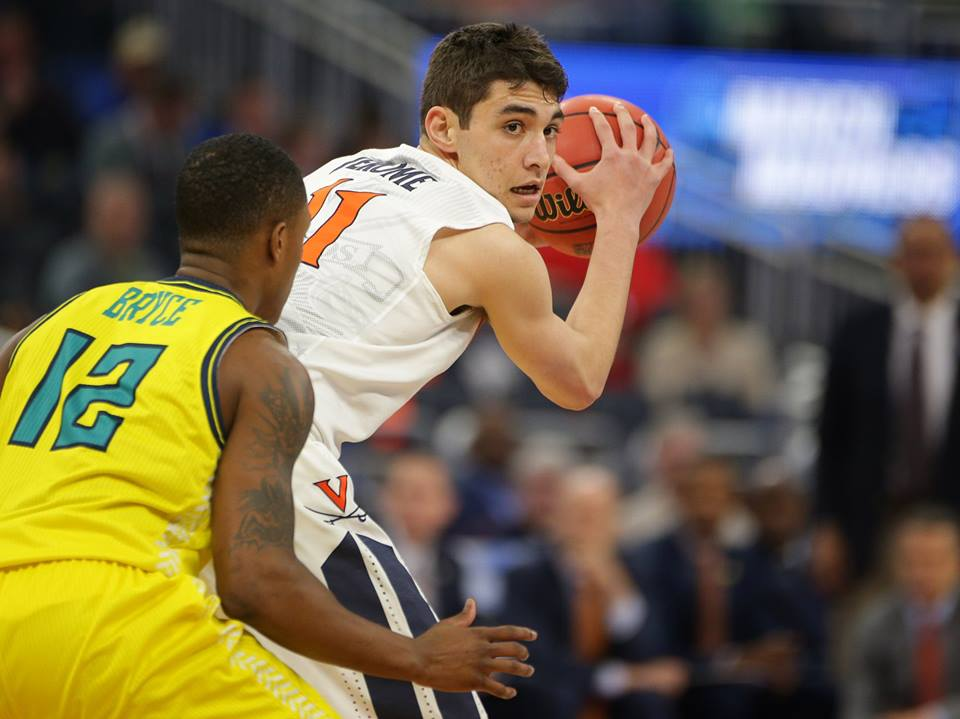 Virginia's freshmen provided key minutes in the NCAA Tournament opener.