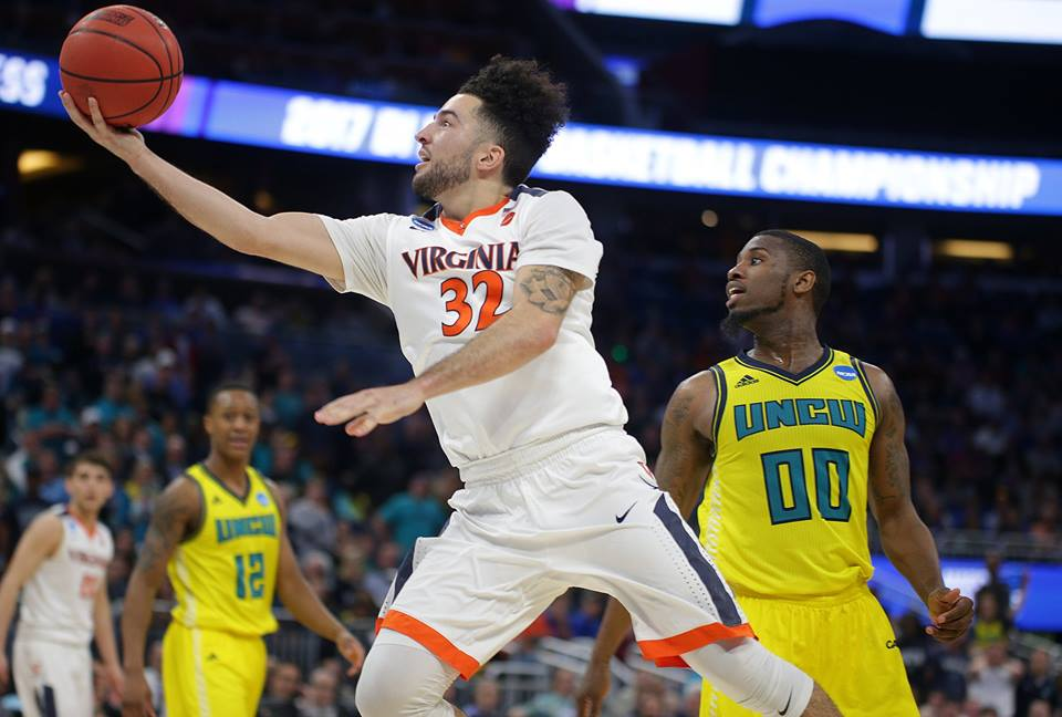 Virginia made it to the round of 32 teams for the fourth straight year.