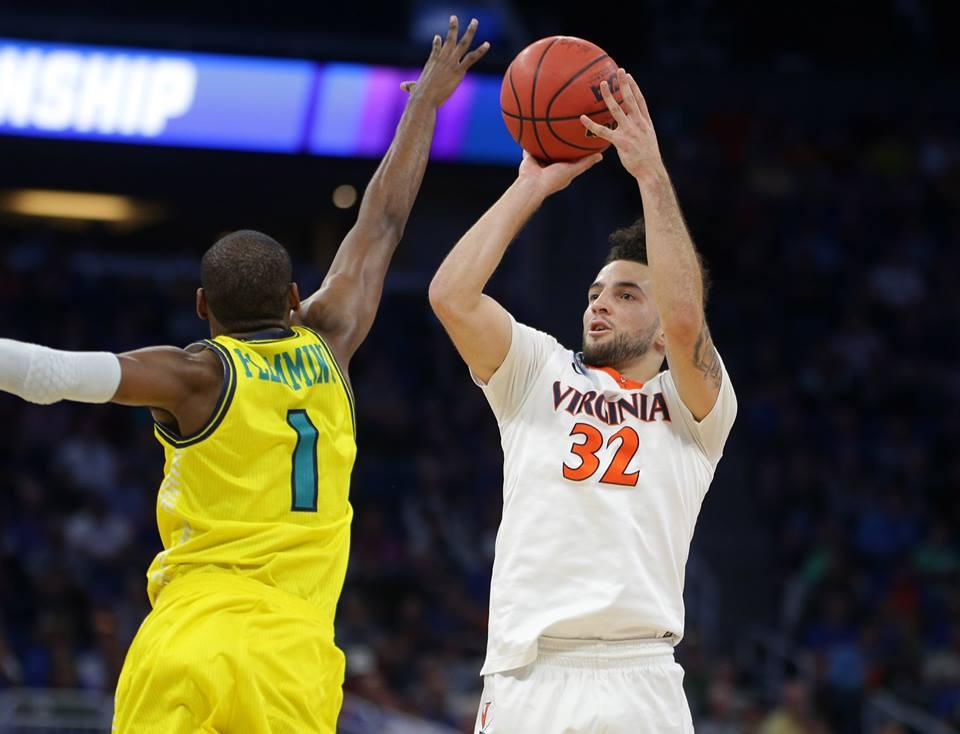 The Virginia basketball team won an NCAA Tournament game for the fourth straight season.