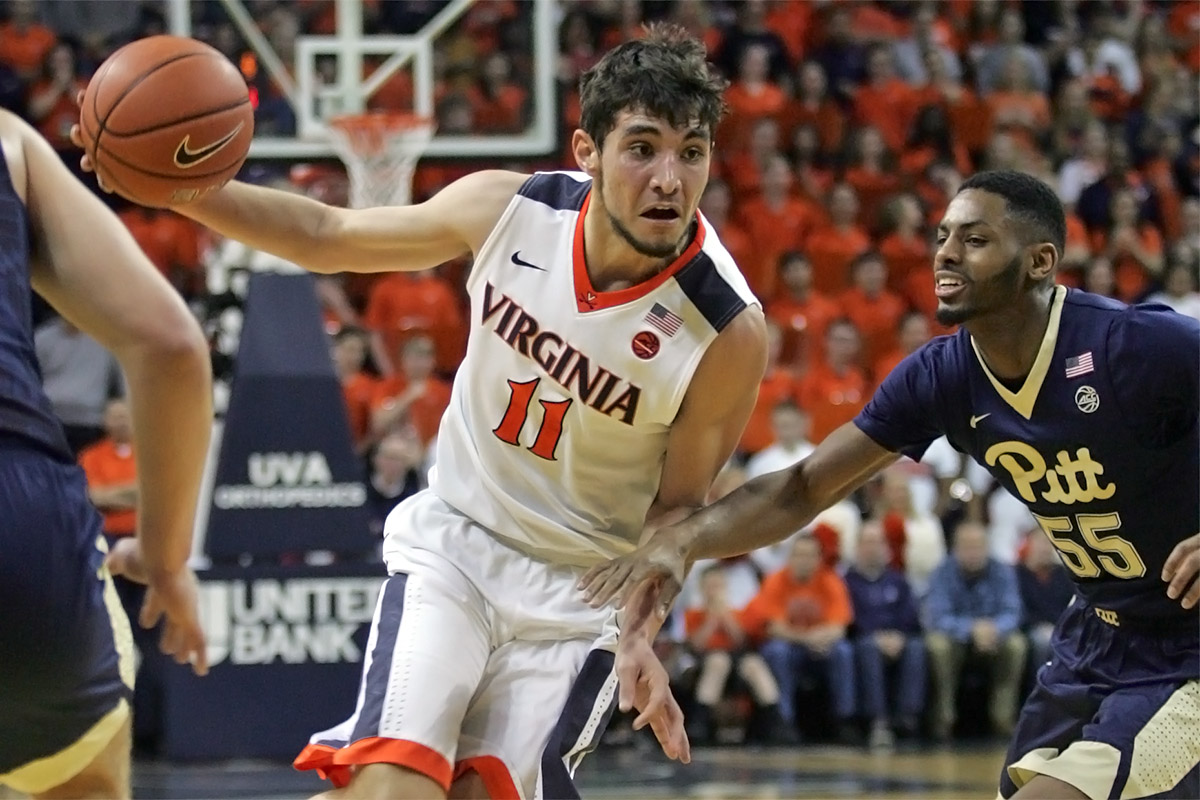 Ty Jerome picked up more minutes as his freshman season progressed.