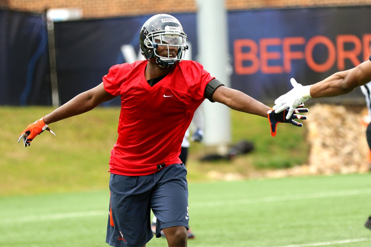 Tim Harris is out for the Virginia football season.