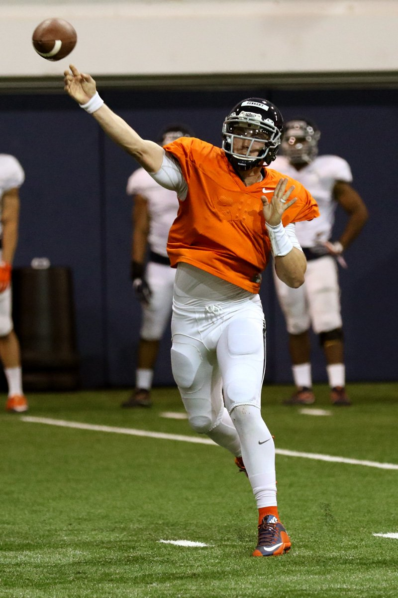The Virginia football team is practicing often in full contact 11 on 11 situations.