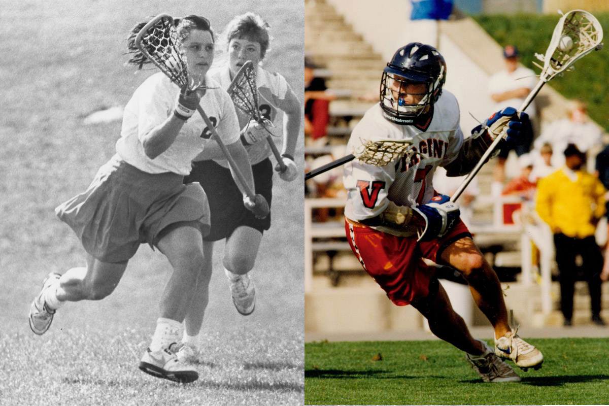 Two Virginia players will join U.S. Lacrosse Hall of Fame.
