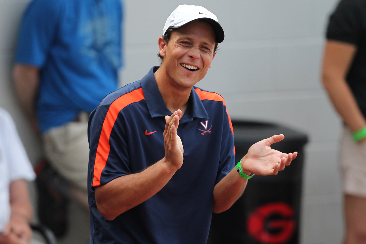 Andres Pedroso named director of tennis at Virginia.