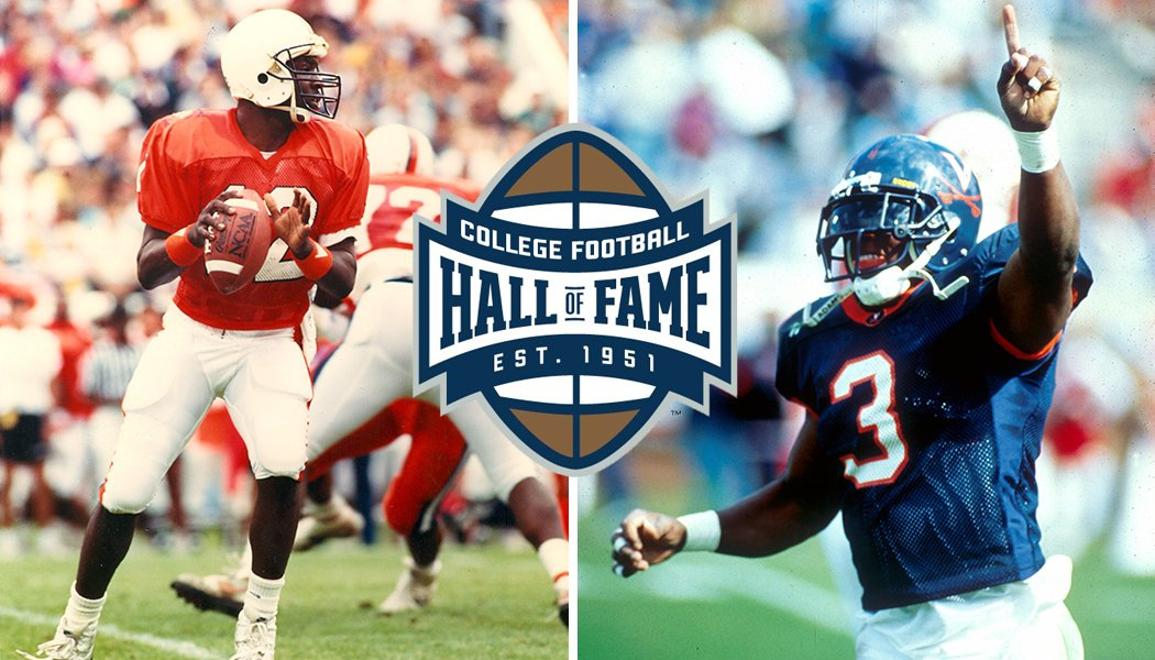 Virginia duo nominated for College Football Hall of Fame.