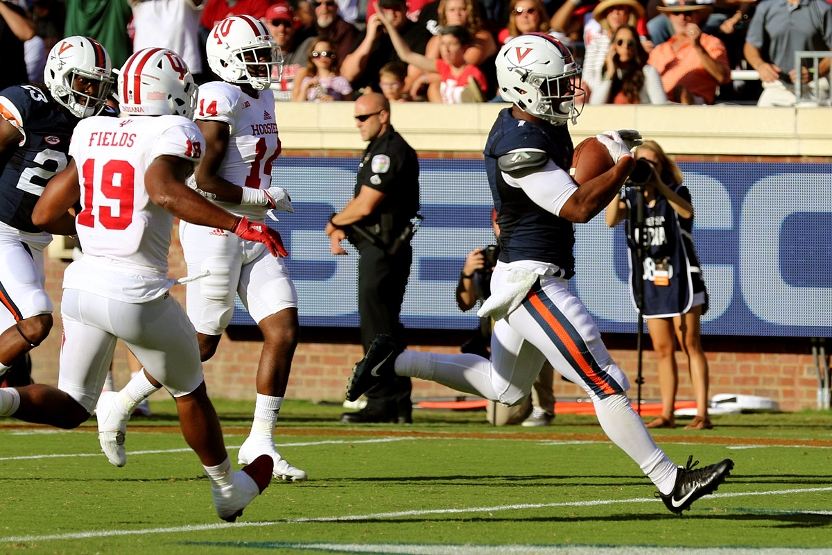 The Virginia football team fell to 1-1 on the season.