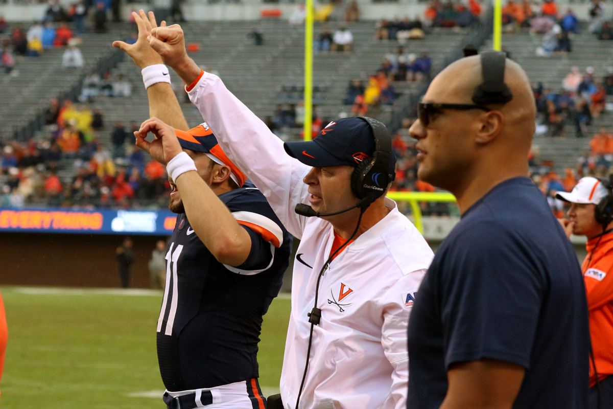 The Virginia football team did not have any turnovers in its win.